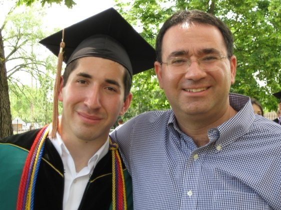 Teddy Daiell - WashU Graduation - Professor Tzachi Zach