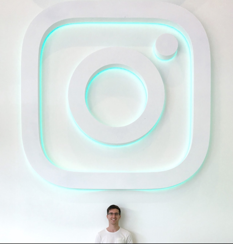 Alex Plutzer - 2nd first day at Instagram