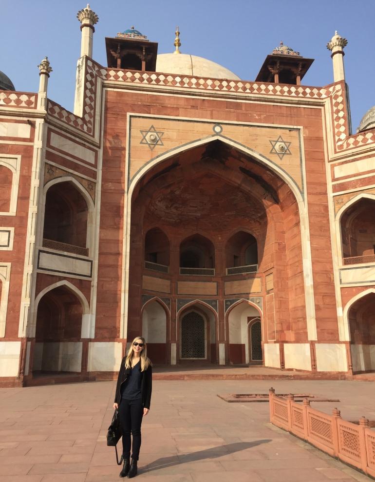 Lindsey Grossman - Humayans Tomb in Delhi