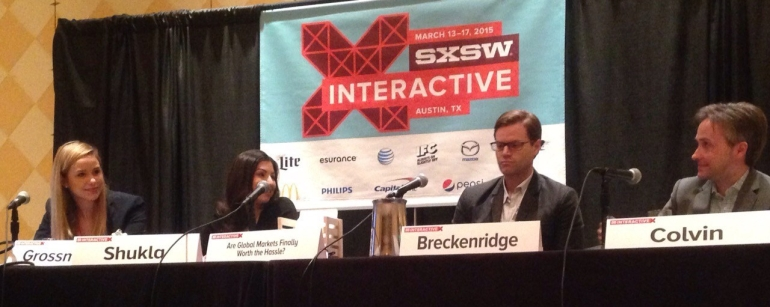 Lindsey Grossman - speaking at SXSW Interactive