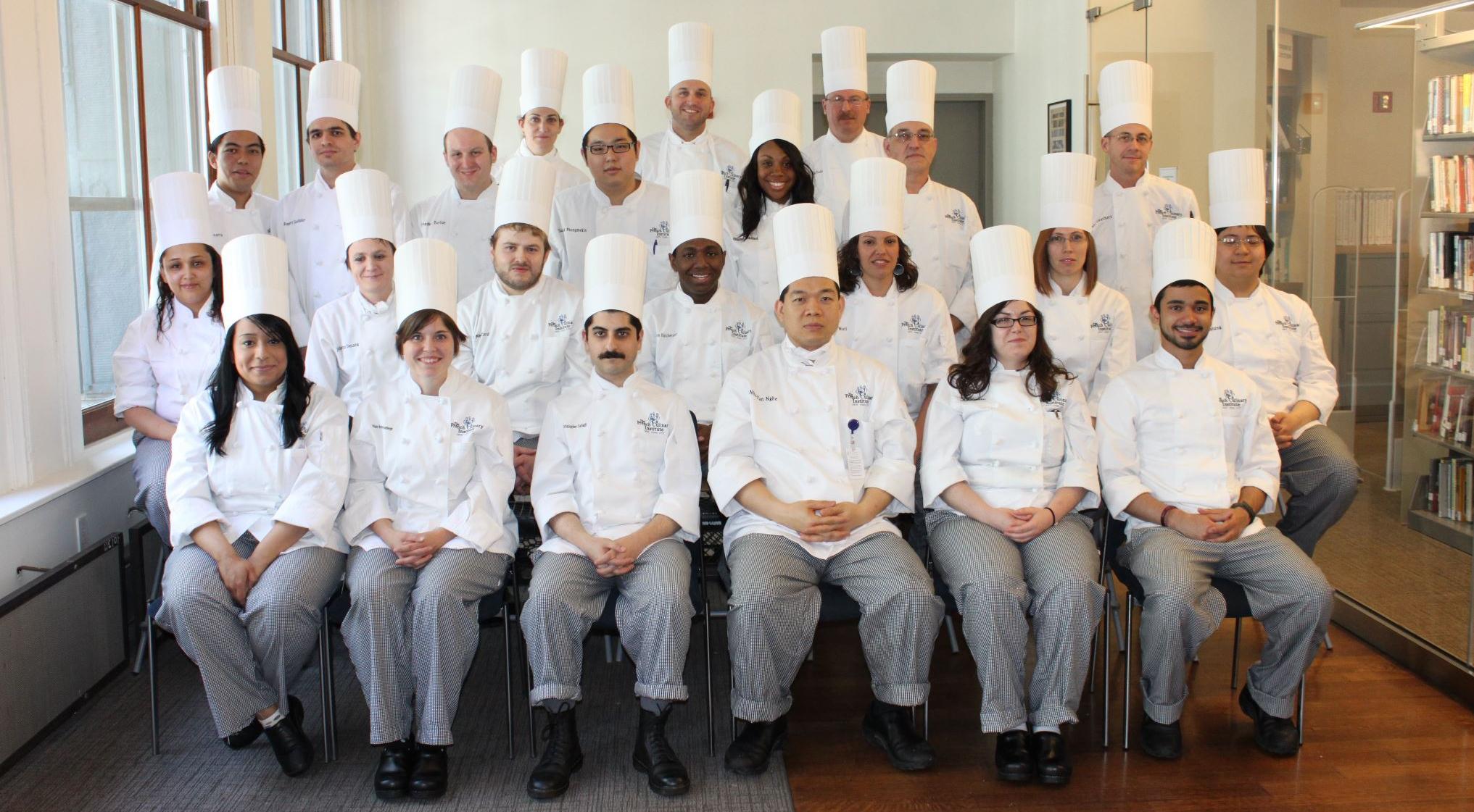 Aaron Hutcherson Culinary School Graduation Class