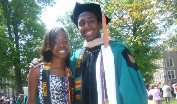 Aaron Hutcherson WashU Graduation